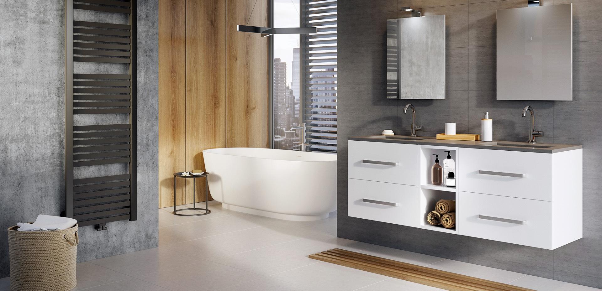 Infinity-met–greep-wit-hoogglans-Levante-wastafel-grijs-mijn-bad-in-stijl