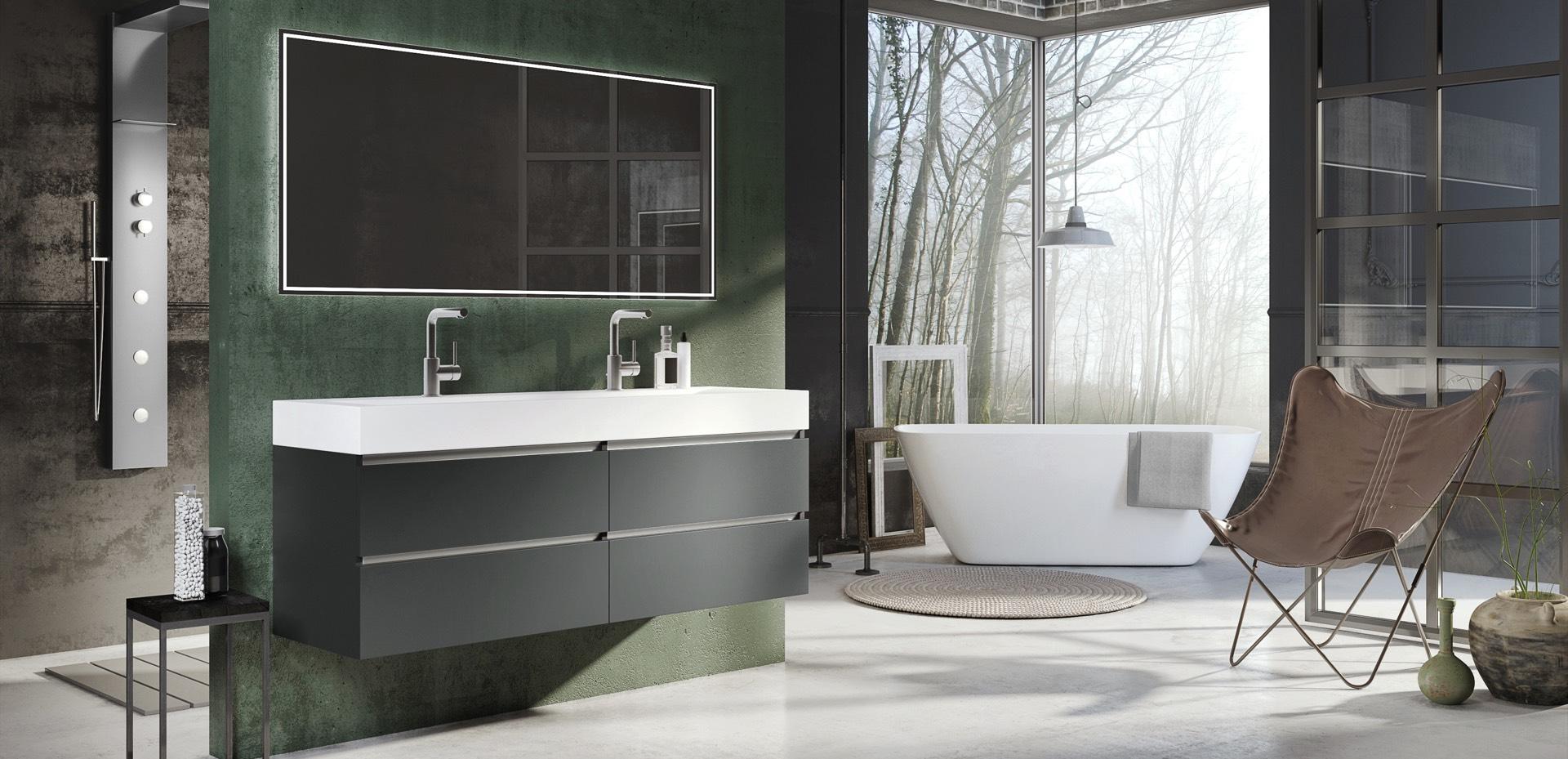 Times-greeploos-antraciet-mat-wastafel-Plan-spiegel-Jade-mijn-bad-in-stijl